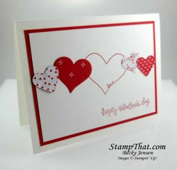 Valentine handmade card