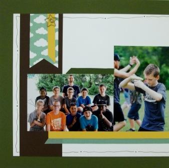 Camp Scrapbook Pages