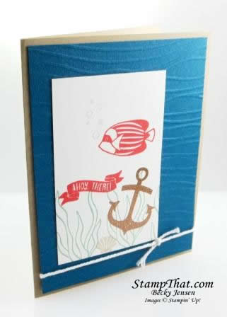 Seaside Shore stamp set