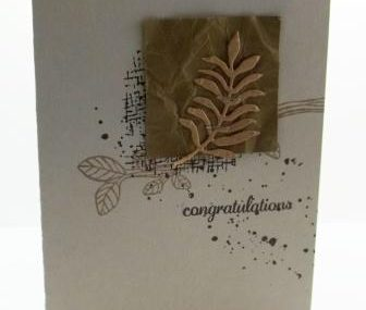 Congratulations Card in the Mail
