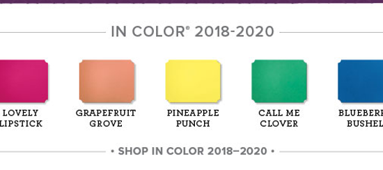 2018 In Color Club Details