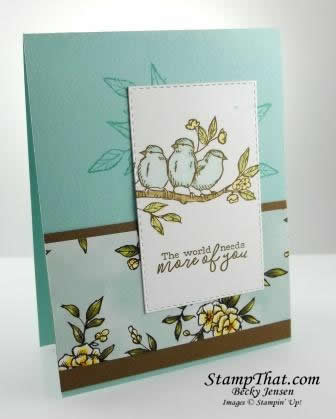 Stampin Up! Free as a Bird stamp set