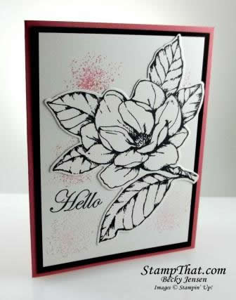 No Color Good Morning Magnolia Card