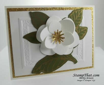 Good Morning Magnolia stamp set and dies