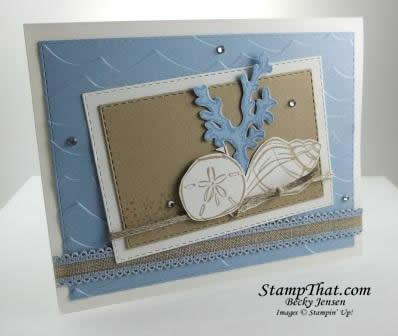 Stampin' Up! Seaside Notions stamp set