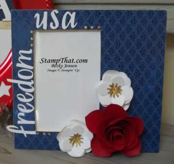 Patriotic Picture Frame