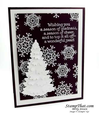 Stampin' Up! Winter Woods