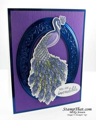 Royal Peacock stamp set