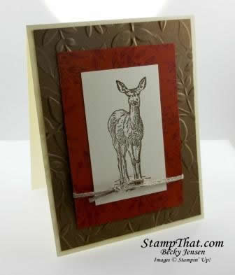 Stampin' Up! Nature's Beauty stamp set