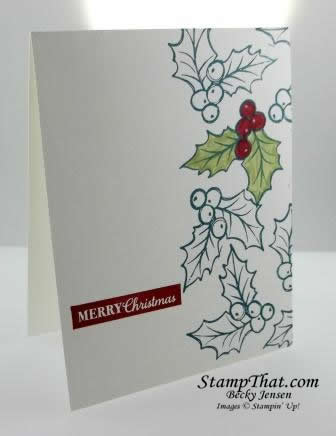 Christmas Gleaming stamp set