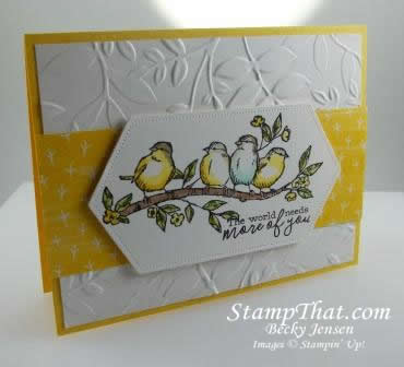 Free As a Bird from Stampin' Up!