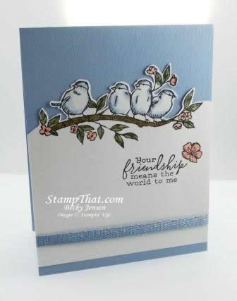 Free As a Bird stamp set