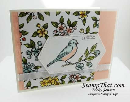 Free As a Bird stamp set