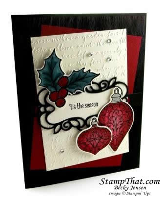 Christmas Gleaming Stampin' Up! Stamp Set