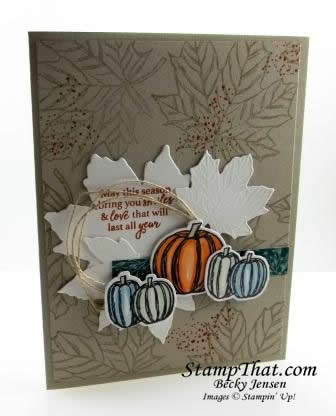 Stampin' Up! Fall Card