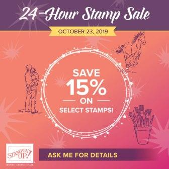 Stampin' Up! 15% Stamp Sale