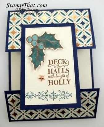 Christmas Gleaming stamp set