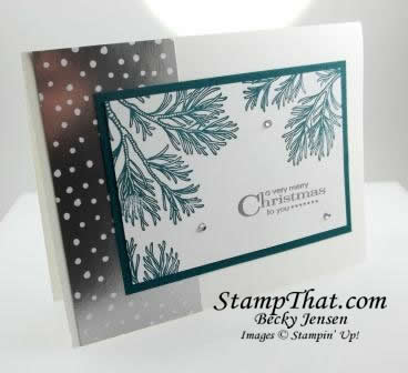 Stampin' Up! Peaceful Boughs