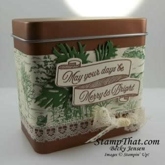 Gift Card Holder Stampin' Up! Style