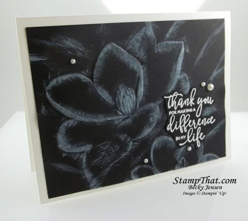 Stampin' Up! Technique
