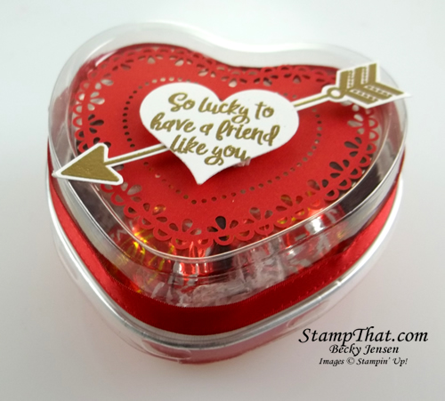 Heart Tins from Stampin' Up!