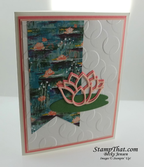 Lily Pad Dies from Stampin' Up!
