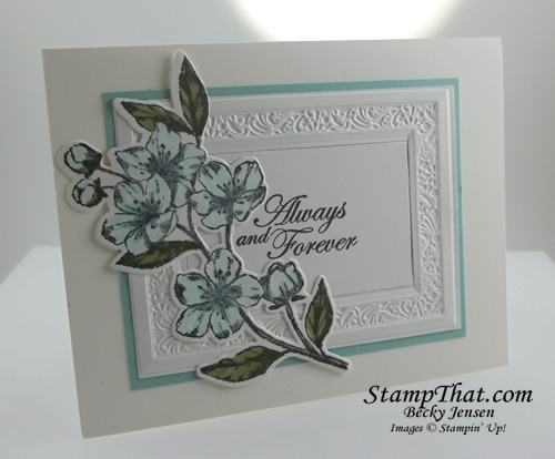 Forever Blossoms stamp set