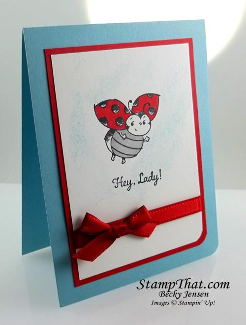 Little Ladybug stamp set