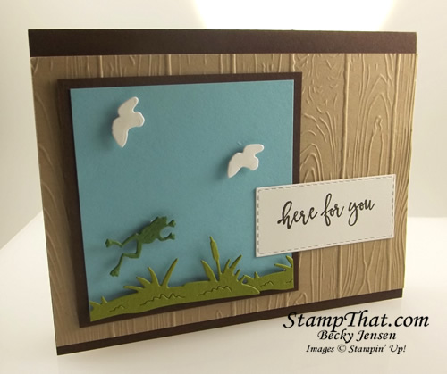 By the Dock stamp set from Stampin' Up!