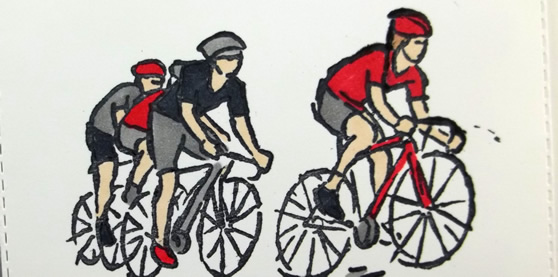 Do the Impossible Cycling Card