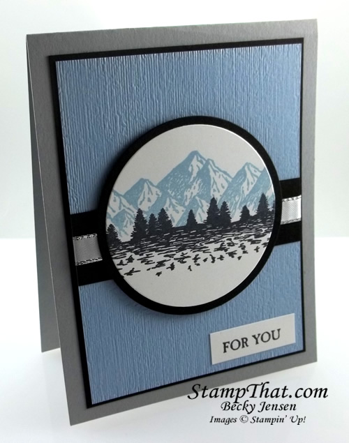 Stampin' Up! Mountain Air Bundle