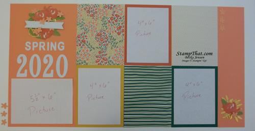 My Paper Pumpkin Scrapbook Pages