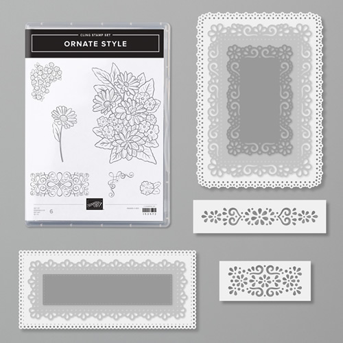 Ornate Style stamp set