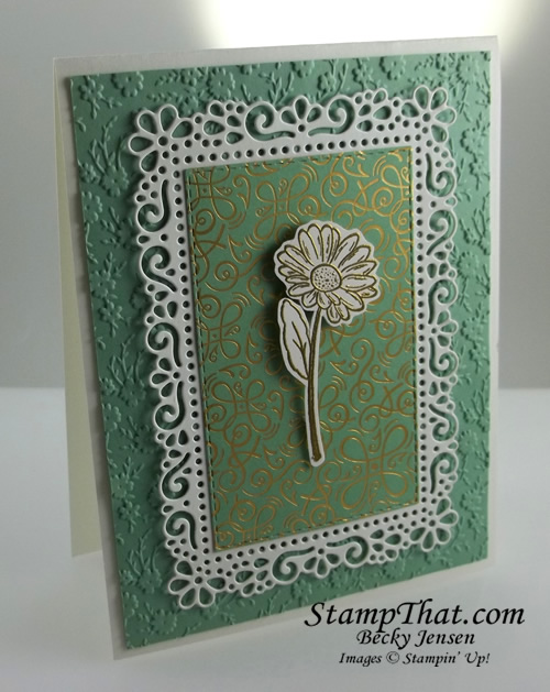 Stampin' up! Ornate Style