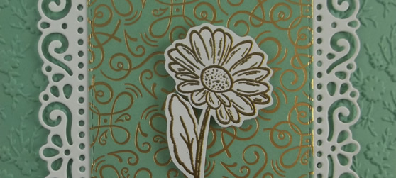 Ornate Style Handmade Card