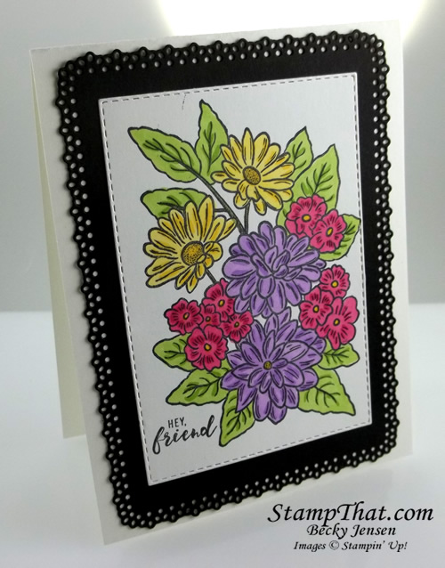 Ornate Style Handmade Card