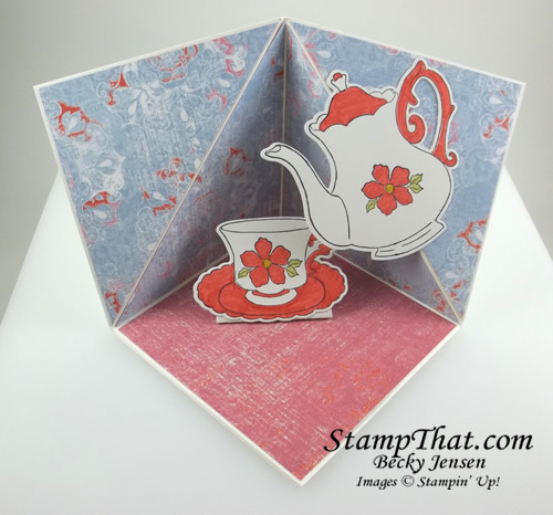Stampin' Up! Tea Time & Tea Together