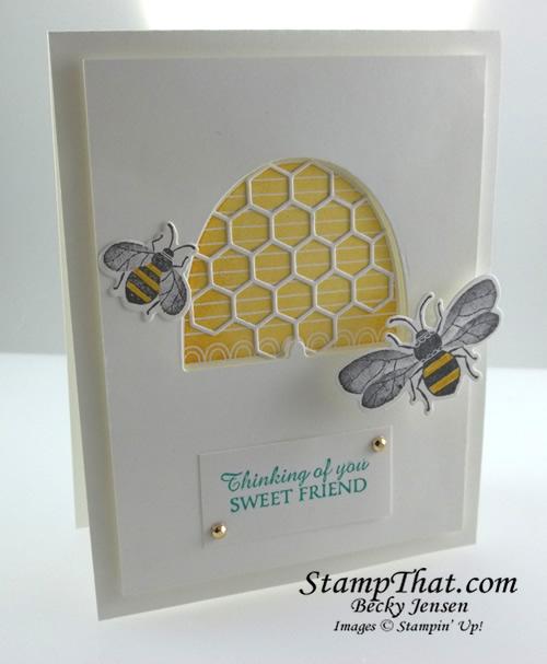 Stampin' Up! Honey Bee