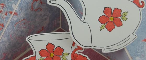 Tea Together Stamp Set & Tea Time Dies