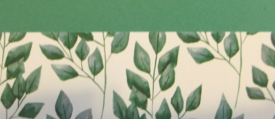 Forever Greenery Scrapbook Layout