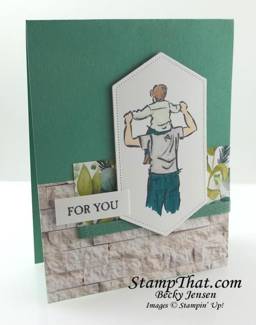 A Good Man stamp set