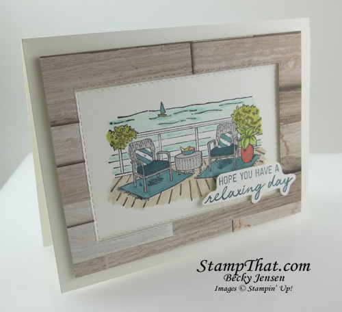 Seaside View stamp set