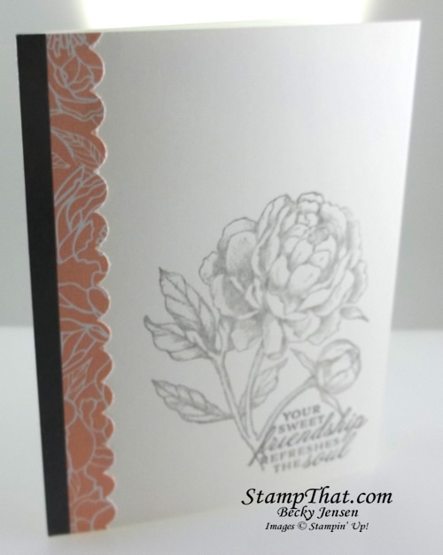 Stampin' Up! Prized Peony