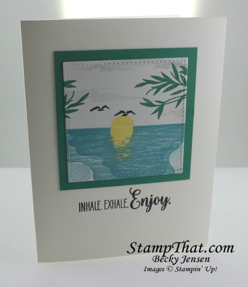 Stampin' Up! Sending Sunshine