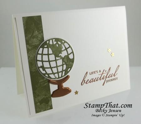 Stampin' Up! Beautiful World stamp set