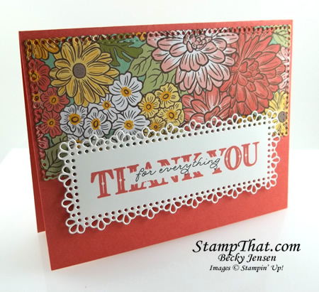 Ornate Layers Dies from Stampin' Up!