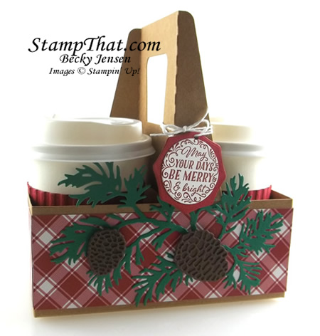 Stampin' Up! Mini Coffee Cups