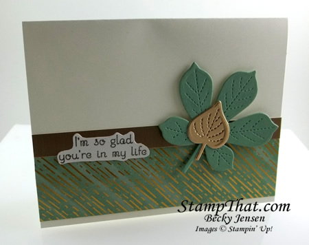 Love of Leaves stamp set