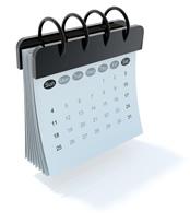 stamping event calendar