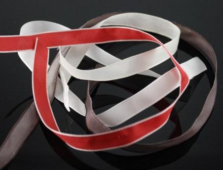 Stampin' Up! taffeta ribbon